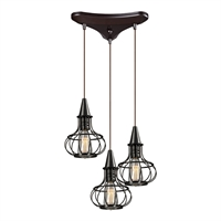 Picture for category Elk 14191/3 Yardley Pendants 10in 3-light