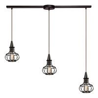 Picture for category Elk 14191/3L Yardley Pendants 36in 3-light