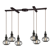 Picture for category Elk 14191/6 Yardley Pendants 33in 6-light