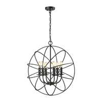 Picture for category Elk 14244/6 Yardley Chandeliers 23in 6-light