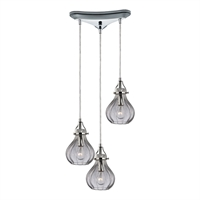 Picture for category Elk 46014/3 Danica Pendants 10in 3-light