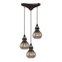 Picture for category Elk 46024/3 Danica Pendants 10in 3-light