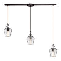 Picture for category Elk 60066-3L Menlow park Chandeliers 36in 3-light
