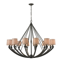 Picture for category Elk 63075/12 Morrison Chandeliers 50in 12-light