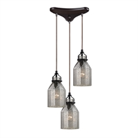 Picture for category Elk 46009/3 Danica Pendants 10in 3-light