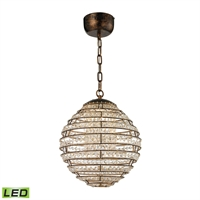 Picture for category Elk 11730/LED Crystal Sphere Pendants 13in 1-light