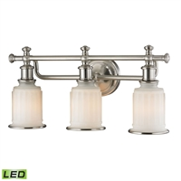 Picture for category Elk 52002/3-LED Acadia Vanity Lighting 22in 3-light