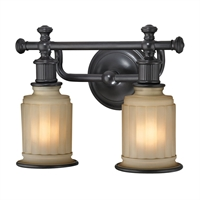 Picture for category Elk 52011/2 Acadia Vanity Lighting 13in 2-light