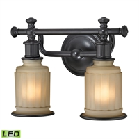 Picture for category Elk 52011/2-LED Acadia Vanity Lighting 13in 2-light