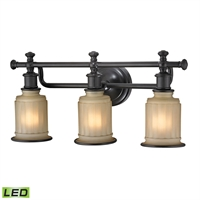 Picture for category Elk 52012/3-LED Acadia Vanity Lighting 22in 3-light