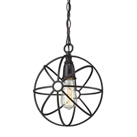 Picture for category Elk 14241/1 Yardley Pendants 10in 1-light