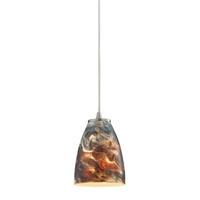 Picture for category Elk 10460/1CS Abstractions Pendants 5in Metal Glass 1-light