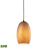 Picture for category Elk 10330/1TB-LED Andover Pendants 5in Metal Glass 1-light