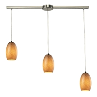 Picture for category Elk 10330/3L-TB Andover Pendants 36in Metal Glass 3-light