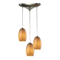 Picture for category Elk 10330/3TB Andover Pendants 10in Metal Glass 3-light