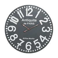 Picture for category Sterling Industries 171-009 Standard Clock 2in MDF Metal
