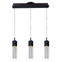 Picture for category ET2 E22763-89BZ Fizz iii Pendants 5in 3-light