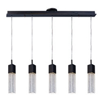 Picture for category ET2 E22764-89BZ Fizz iii Pendants 5in 5-light
