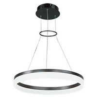 Picture for category ET2 E22453-11BZ Modern Pendants 24in 1-light