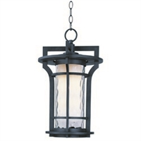 Picture for category Maxim 55788WGBO Oakville Led Outdoor Deck Lantern 12in 1-light