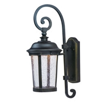 Picture for category Maxim 55023CDBZ Dover Led Outdoor Wall Sconces 8in 1-light
