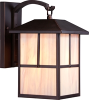 Picture for category Nuvo 60/5672 Tanner Outdoor Lighting Lamps 8in Claret Bronze Honey Stained