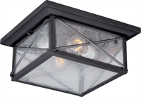 Picture for category Nuvo 60/5626 Wingate Outdoor Lighting Lamps 11in Textured Black Clear Seed