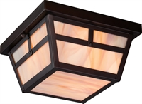 Picture for category Nuvo 60/5676 Tanner Outdoor Lighting Lamps 9in Claret Bronze Honey Stained