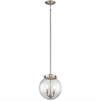 Picture for category Kichler 42588NI Holbrook Mini Pendants 10in 2-light
