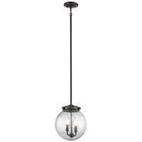 Picture for category Kichler 42588OZ Holbrook Mini Pendants 10in 2-light