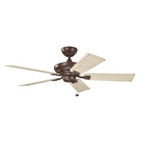 Picture for category Kichler 320500CMO Climates Ceiling Fans 52in Coffee Mocha