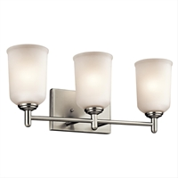 Picture for category Kichler 45574NI Shailene Bath Lighting 21in Brushed Nickel 3-light