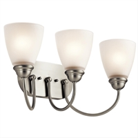 Picture for category Kichler 45639NI Jolie Bath Lighting 20in Brushed Nickel 3-light