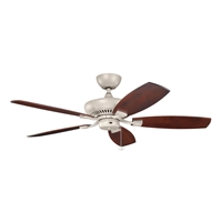 Picture for category Kichler 320500ANS Climates Ceiling Fans 52in Antique Satin Silver