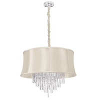 Picture for category Dainolite JUL268-PC-139 Silk glow crystal Chandeliers 26in Polished Chrome