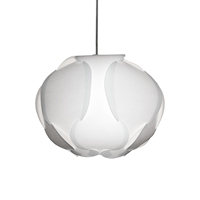 Picture for category Dainolite DBC-M-790 Globus Pendants 15in White Fabric 1-light