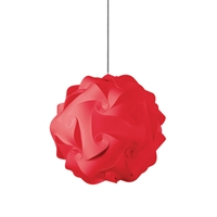 Picture for category Dainolite DBL-M-795 Globus Pendants 16in Red Fabric 1-light