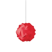 Picture for category Dainolite DBL-S-795 Globus Pendants 9in Red Fabric 1-light