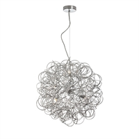 Picture for category Dainolite BAY-166LP-PC Baya Pendants 18in Polished Chrome Aluminum 6-light