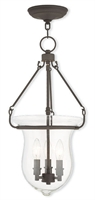 Picture for category Livex 50296-07 Canterbury Pendants 3-light