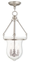 Picture for category Livex 50296-91 Canterbury Pendants 3-light