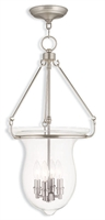 Picture for category Livex 50298-91 Canterbury Pendants 4-light