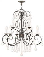 Picture for category Livex Lighting 50769-92 Chandeliers 9-light