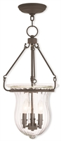 Picture for category Livex 50944-07 Andover Pendants 3-light