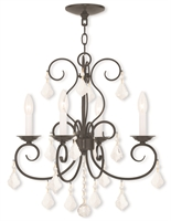 Picture for category Livex Lighting 50764-92 Mini Chandeliers 4-light