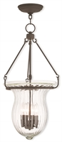 Picture for category Livex 50946-07 Andover Pendants 4-light