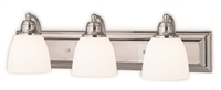 Picture for category Livex Lighting 10503-05 Bath Lighting 24in Polished Chrome Steel 3-light