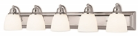 Picture for category Livex Lighting 10505-05 Bath Lighting 36in Polished Chrome Steel 5-light