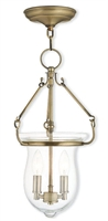 Picture for category Livex 50294-01 Canterbury Pendants 2-light