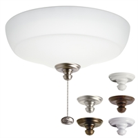Picture for category Kichler 338150MUL Accessory Ceiling Fans 13in 3-light